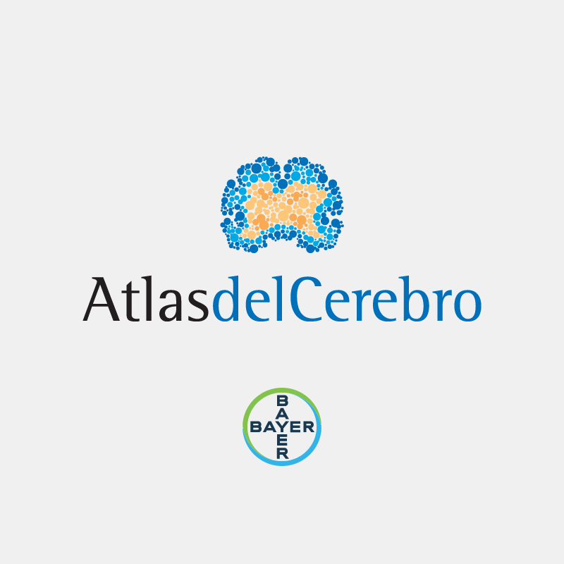 Isologotipo Atlas del Cerebro Bayer S.A.