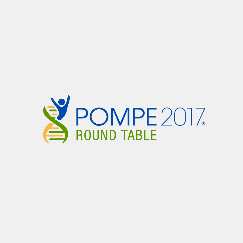 Logotipo Pompe Round Table.